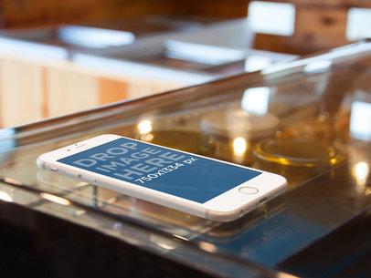 iPhone 6 Desert Counter