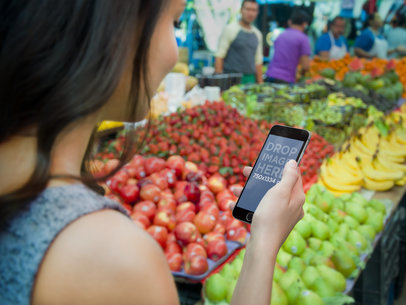 iPhone 6 Buying Fruit