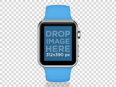 Blue Apple Watch Sport