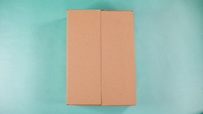 Book In An Opening Box With Packing Peanuts Mockup Stop Motion a13683