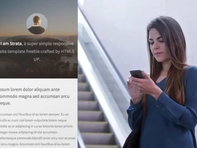 Woman at the Airport Using an iPhone App Demo Video a8096
