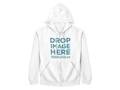 Clothing Mockup of a Hoodie on a Hanger a9160