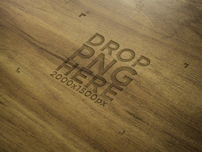 Diagonal Wood Texture Template Logo a14818